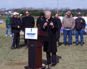 Florio B 300x236 - Political Allies Sweeney and Florio Share the Stage at Sweeney Rally