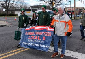 Prade 9286 300x207 - Union support strong at St. Patrick's Parade in Mt Holly
