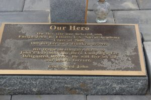 IMG 5560 300x200 - Bricklayers Local 5 and Ironworkers  Local 399 build monument to local hero