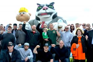 Insulators Local 89 300x199 - Rally expresses union frustration  in Hamilton
