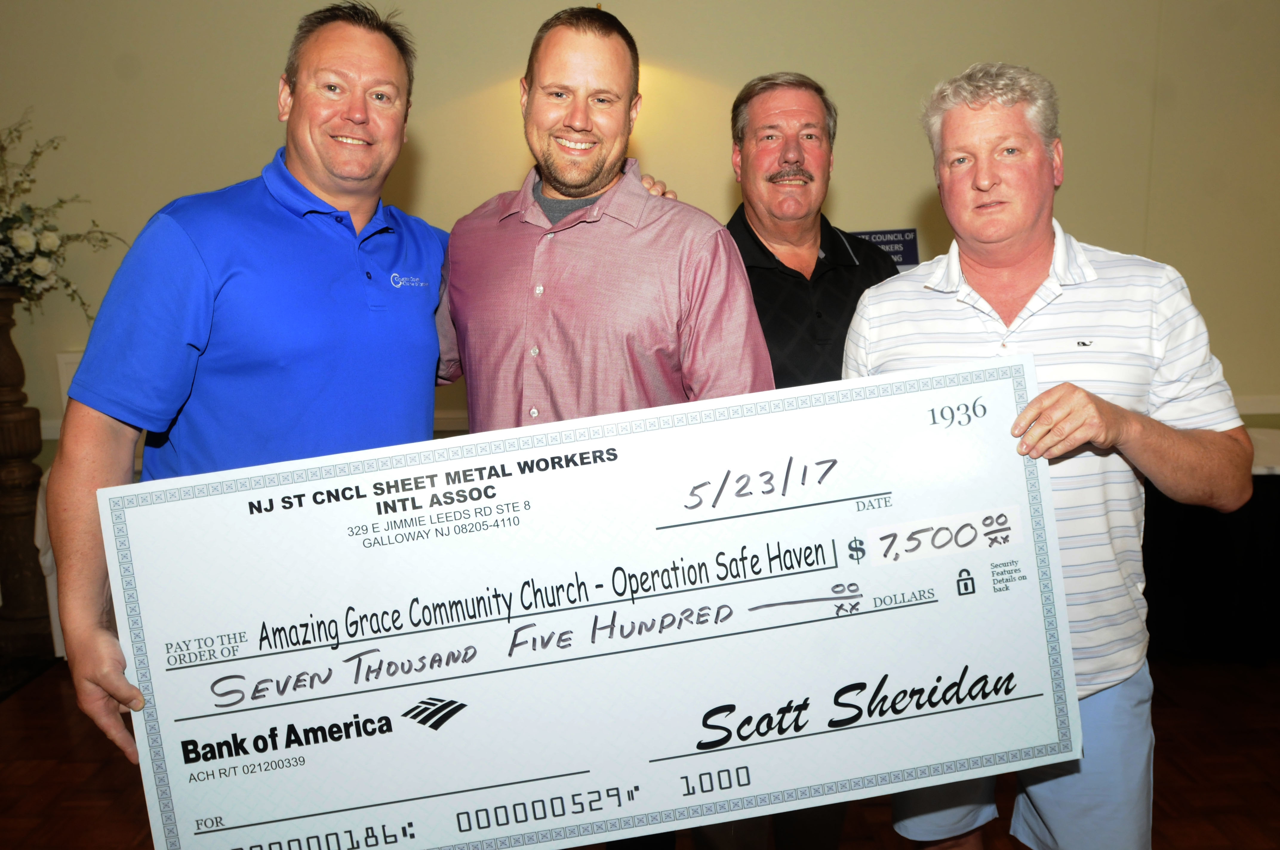 Sheet Metal Workers Golf Outing Raises Funds For Operation