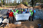 Brick Layers doing foundation for Habitat for Humanity  - group pic