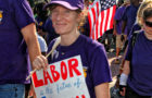 Labor Day Parade- Philadelphis 2017. Here, SEIU local 688 - did not get her name