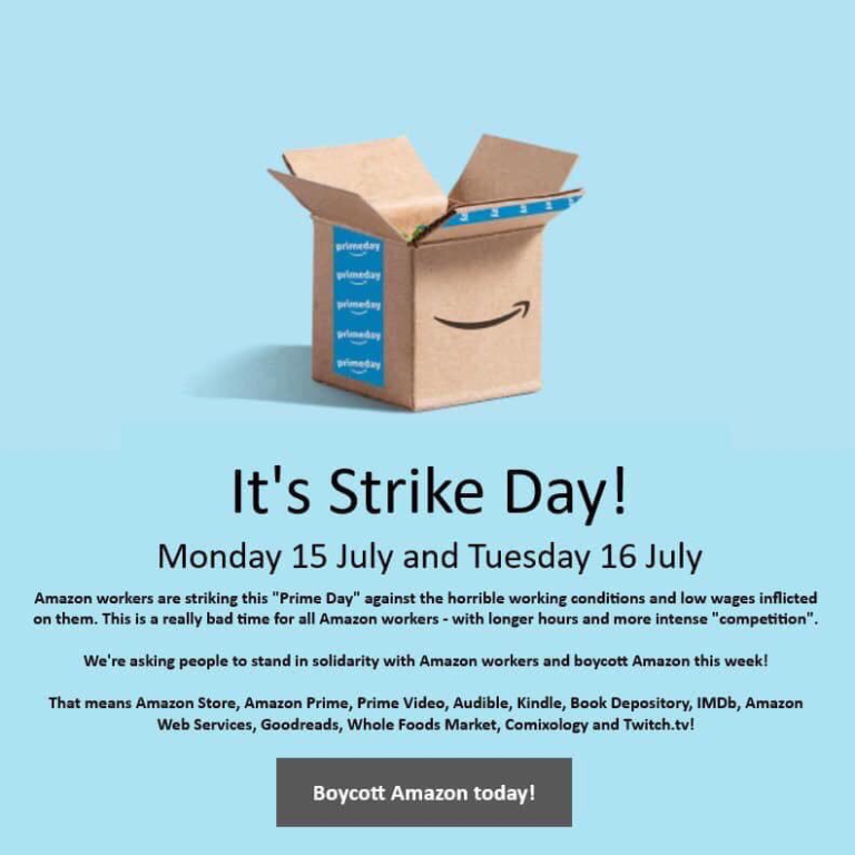 Amazon Strike Day 768x768 - Front Page